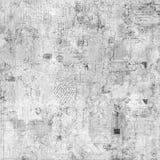 Grungy Beschaffenheitsweinlese-Postkartenhintergrund Lizenzfreie Stockfotografie