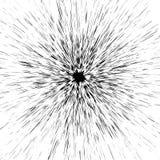 Grungy beschmutzter, geplätscherter flüssiger Farbenradialeffekt Splashe Stockbilder