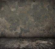 Grungy Betonmauer und Boden. Stockbilder