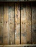 Grungy bevlekte en doorstane houten lijst Stock Fotografie