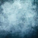 Grungy blå kanfas royaltyfria bilder