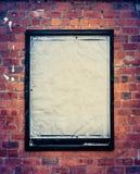 Grungy Blank Billboard Royalty Free Stock Image