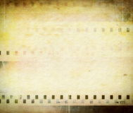 Grungy blank photo paper Stock Photography