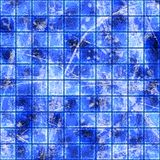 Grungy blocks. Abstract background of blue blocks Stock Images