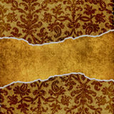 Grungy bloemenachtergrond vector illustratie