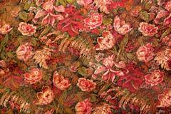 Grungy BloemenBehang 1 royalty-vrije stock afbeelding