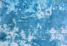 Grungy Blue  Abstract Background Stock Photo