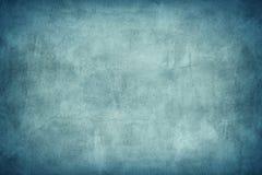 Grungy Blue Concrete Wall Royalty Free Stock Photos