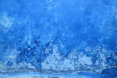 Grungy blue wall background Stock Image