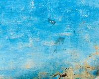 Grungy blue wall Royalty Free Stock Image