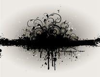Grungy Blumenhintergrund stock abbildung