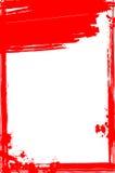 Grungy blutiger Rahmen für Ihr Design Stockfotos