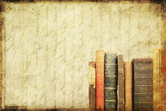 Grungy book background Stock Photography