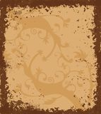Grungy border with celtic ornament Royalty Free Stock Images