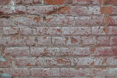 Grungy Brick Background. Brick wall wit grunge build up on it royalty free stock image