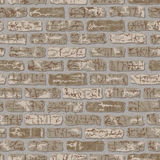 Grungy Brick Pattern Stock Photography