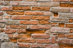 Grungy brick wall Royalty Free Stock Images