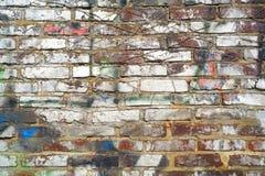 Grungy brick wall background Stock Photo