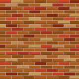 Grungy brick wall brown color background Royalty Free Stock Image