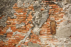 Grungy brick wall texture Stock Photos