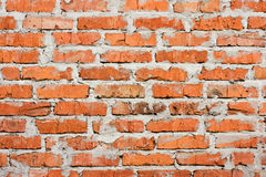 Grungy brick wall texture. Grungy textured brick wall background stock photography