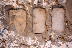 Grungy brickwork Royalty Free Stock Image