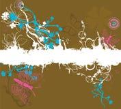 Grungy butterflies Stock Photography