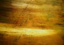 Grungy canvas. Golden grunge canvas painted by photographer Stock Photography