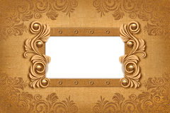 Grungy canvas background Royalty Free Stock Photos