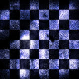 Grungy chessboard Stock Image