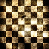 Grungy chessboard Royalty Free Stock Photos