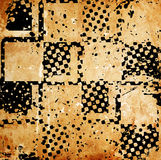 Grungy chessboard background Royalty Free Stock Photos