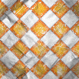 Grungy chessboard background Stock Images