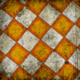 Grungy chessboard background Stock Photos