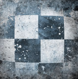 Grungy chessboard background Stock Image