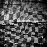 Grungy chessboard background with stains Royalty Free Stock Images
