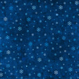 Grungy christmas background. Vintage blue grungy background with snowflakes Stock Photo
