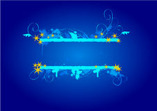 Grungy christmas banner Royalty Free Stock Photo