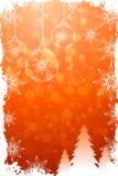Grungy Christmas Card Stock Photo