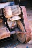 Grungy ciężki maszynowy szczegół Fotografia Stock