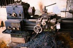 Grungy ciężki maszynowy szczegół Zdjęcia Royalty Free