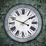 Grungy Clock Stock Image