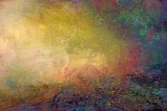 Grungy colored backround texture Stock Photography