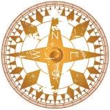 Grungy compass, Stock Photos