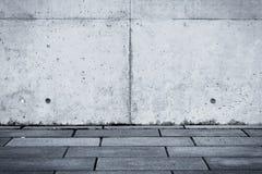 Grungy concrete muurtextuur Stock Foto's