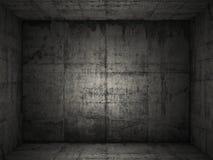Grungy concrete ruimte 2 royalty-vrije stock fotografie
