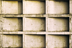 Grungy concrete wall. Royalty Free Stock Photography