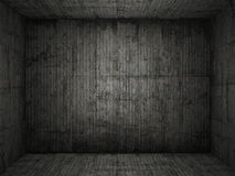 Grungy conrete room background Stock Photos