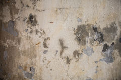 Grungy Cracked cement wall. For backdrop Stock Image
