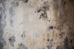 Grungy Cracked cement wall. For backdrop Royalty Free Stock Photography